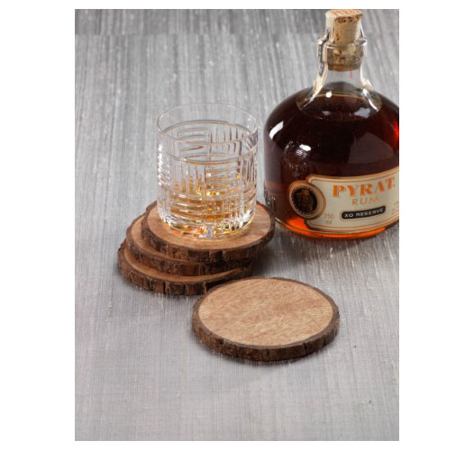 ZODAX ASPEN COASTERS / SET OF 4