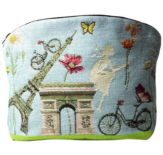 ART DE LYS PARIS IN BLOOM COSMETICS BAG