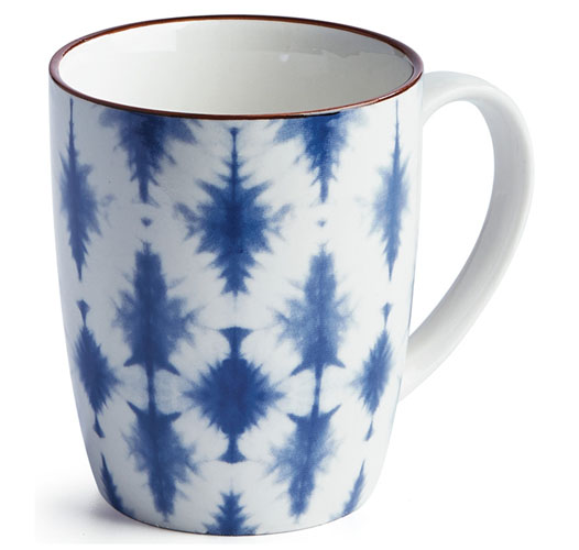 NAPA HOME & GARDEN INDIGO MUG / SET OF 2