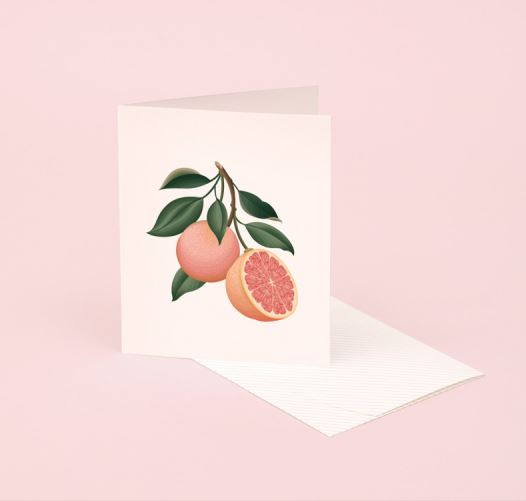 CLAP CLAP GRAPEFRUIT CARDS / SET OF 5