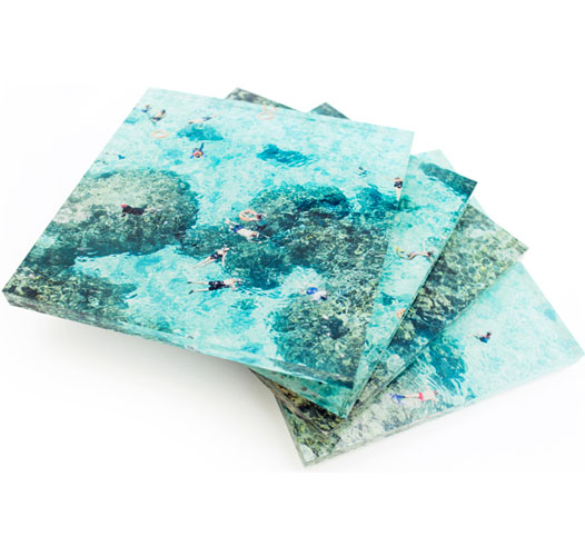 GRAY MALIN THE REEF COASTERS - SET OF 4