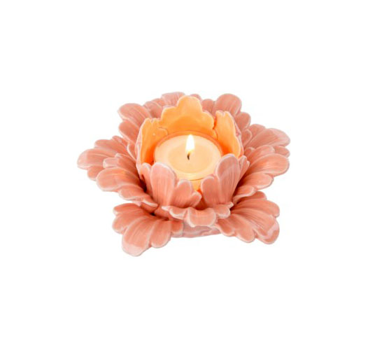 INDABA PRETTY PETALS TEALIGHTS - SET OF 2
