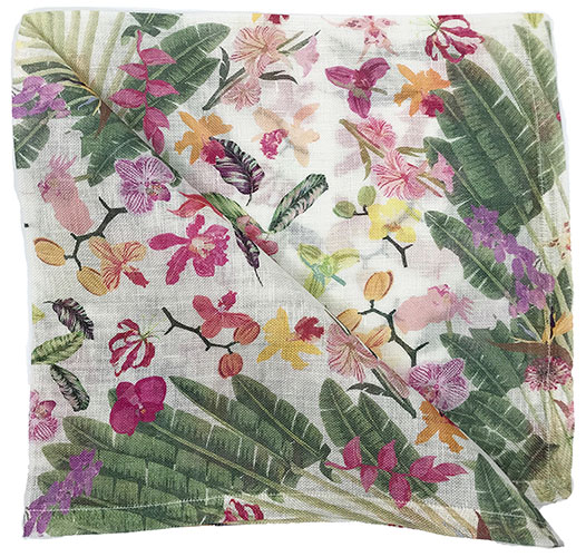 NICOLETTE MAYER FANTASY TROPICAL NAPKINS - SET OF 4