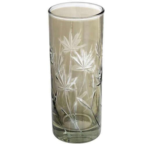 INDABA TROPICAL BRONZE LUSTER TUMBLER - SET OF 4