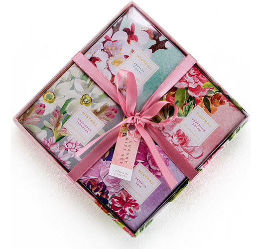 MISTRAL EXQUISITE FLORALS SOAP GIFT BOX