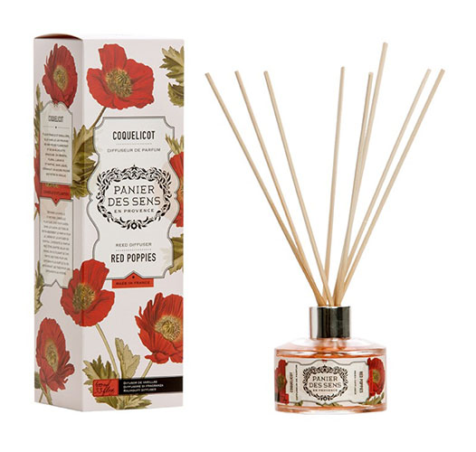 PANIER DES SENS RED POPPIES REED DIFFUSER