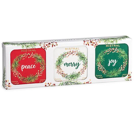 MISTRAL HOLIDAY SOAP BOXED SET