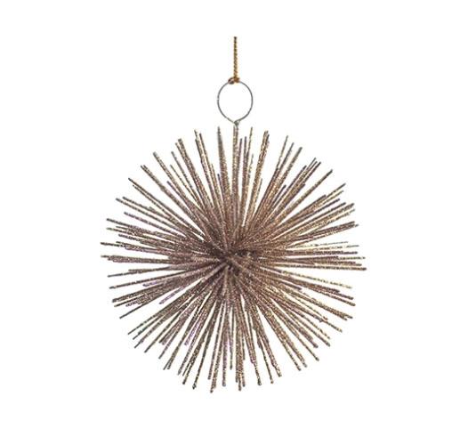 ZODAX SMALL STAR BURST ORNAMENT - SET OF 2