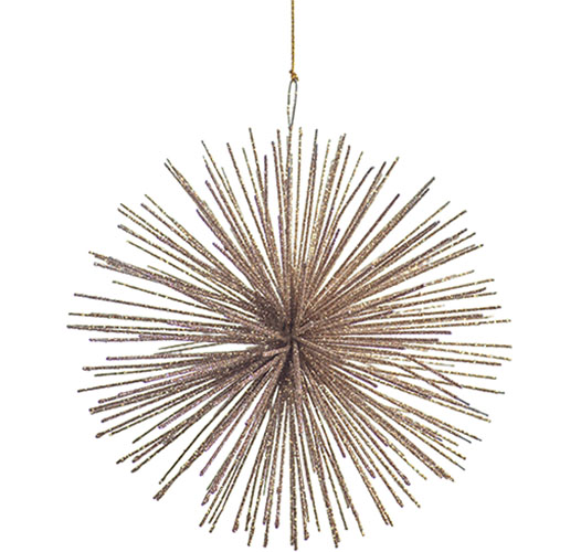 ZODAX MEDIUM STAR BURST ORNAMENT - SET OF 2