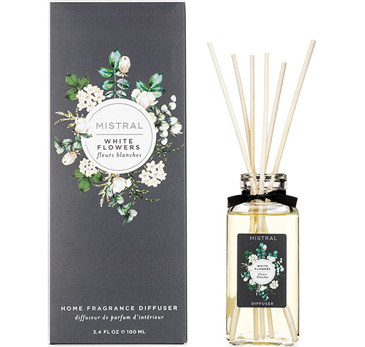 MISTRAL WHITE FLOWERS REED DIFFUSER