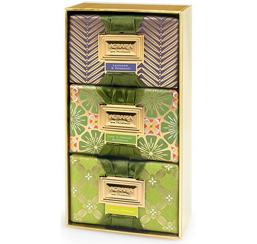 AGRARIA HERBAL LUXURY BATH BAR COLLECTION