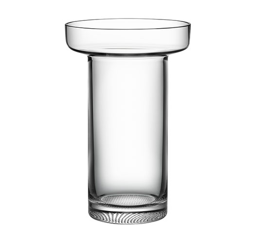 KOSTA BODA LIMELIGHT ROSE VASE - CLEAR