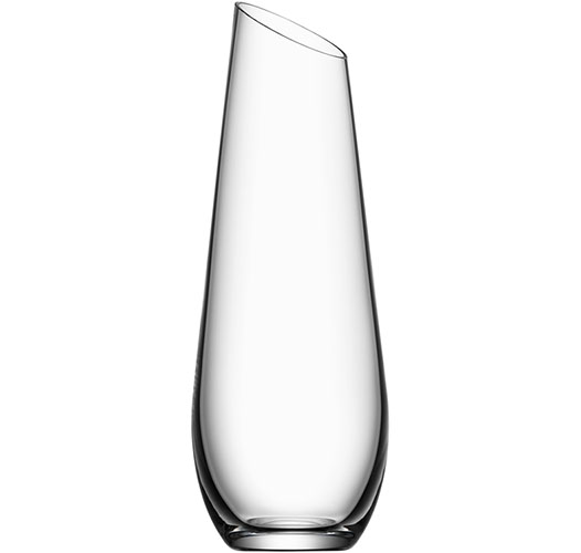 ORREFORS ENJOY CARAFE AND VASE