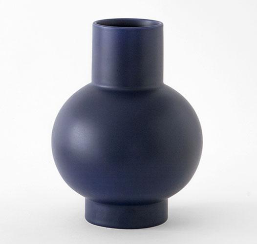 MOMA RAAWII STRøM VASE - SMALL / BLUE