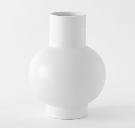 MOMA RAAWII STRøM VASE - SMALL / GRAY