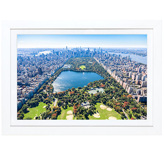 GRAY MALIN CENTRAL PARK MINI FRAMED PRINT