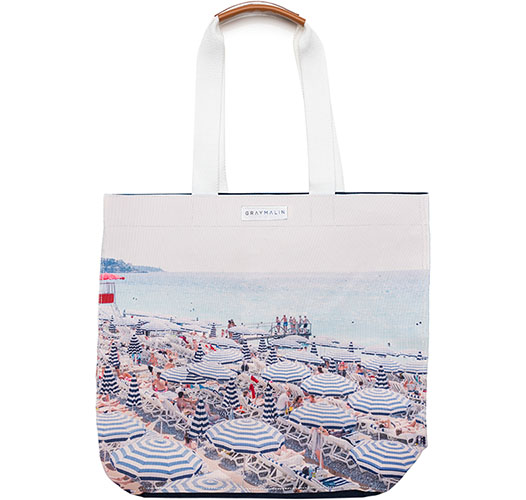 GRAY MALIN THE FRENCH RIVIERA TOTE BAG