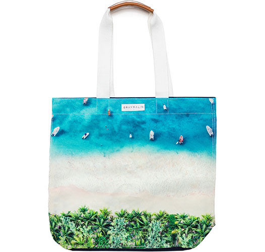 GRAY MALIN THE ST BARTHS TOTE BAG